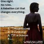 WRECKLESS – Chapter One