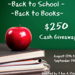 Back to School ~ Back to Books $250 Giveaway